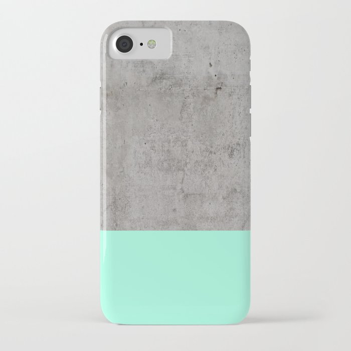 sea on concrete iphone case