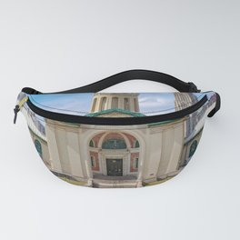 Pittsburgh Campus Print Fanny Pack