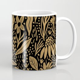 Eileen Black and Gold Coffee Mug