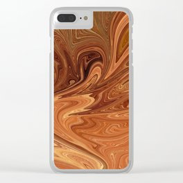 Desert Stone Clear iPhone Case