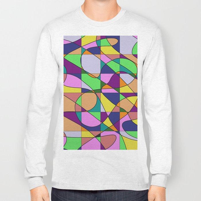 Pastel Pieces Long Sleeve T-shirt