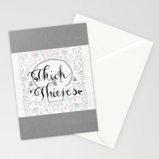 Thick as Thieves Stationery Cards