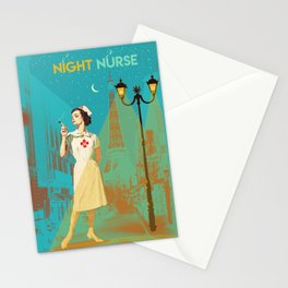 NIGHT NURSE Stationery Cards