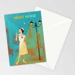 NIGHT NURSE Stationery Cards