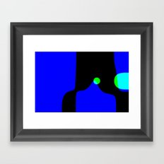 straight, no chaser (iteration 1) Framed Art Print