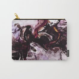 Purple Abstract Art / Surrealist Painting Carry-All Pouch