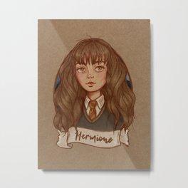 The Golden Trio - Hermione Metal Print