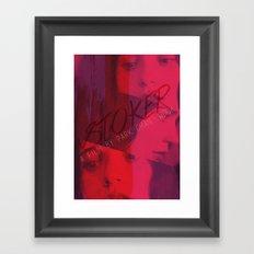 Stoker Framed Art Print