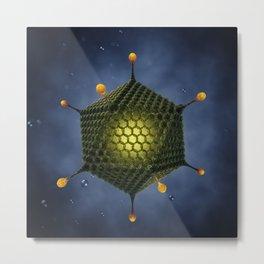 Adenovirus Metal Print