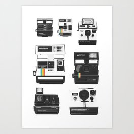 Instant Cameras - Collection Art Print