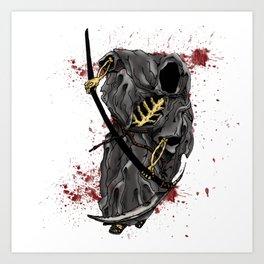 Grimm Reaper Art Print