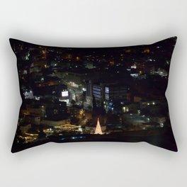 Nazareth, Israel at night Rectangular Pillow