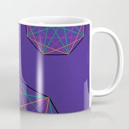 Nonagon Triad Violet Coffee Mug