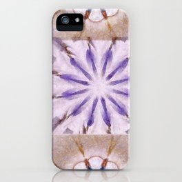 Faience Entity Flowers  ID:16165-051910-13480 iPhone Case