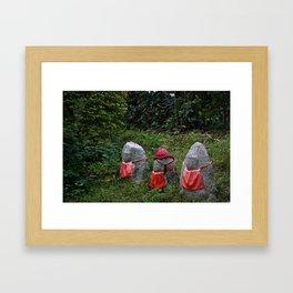 Three Tiny Guardians Framed Art Print