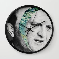 Where's your head going? Wall Clock