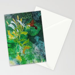 Neither Bird, Nor Bee, Nor Flying Crawfish Stationery Cards