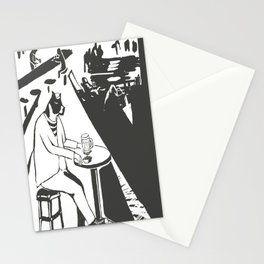 I feel like we don't belong here - Mr.Boston's Night Stationery Cards