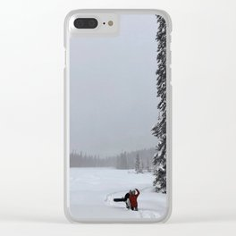 Wrong Turns Clear iPhone Case