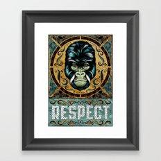 Respect Framed Art Print