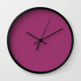 Vintage Plum Color of Year 2016 { artistic edition } Wall Clock