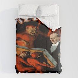 Vintage poster - Kellar the Magician Comforters