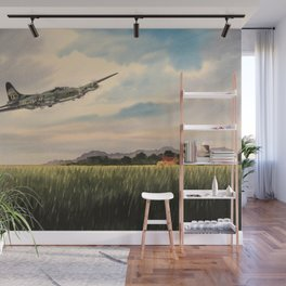 B-17 Flying Fortress Aircraft Wall Mural