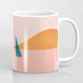 Abstraction_Sailing_Ocean_002 Coffee Mug