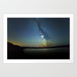 The Milky Way Art Print