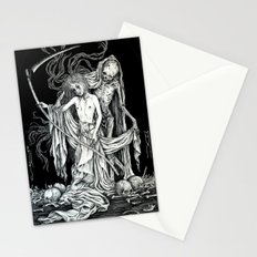 Death and the Maiden III Stationery Cards