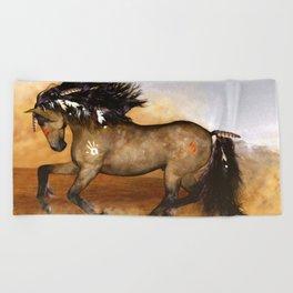 HORSE - Cherokee Beach Towel