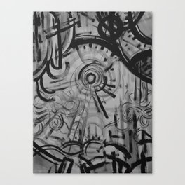 Sun/Wind Canvas Print