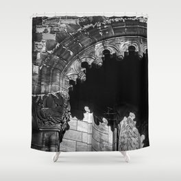 Castle Archway Shower Curtain