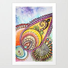Delight Art Print