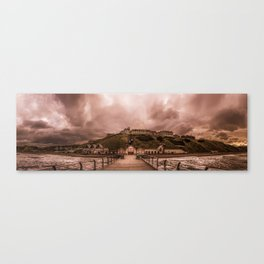 View from the Pier Canvas Print