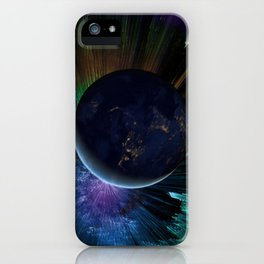You Run to Catch Up With the Sun (But It's Sinking) iPhone Case