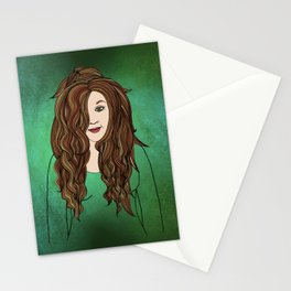 Little By Little Her Smile Returned Stationery Cards