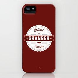 Granger Optical Repair iPhone Case
