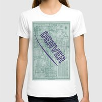 denver T-shirts featuring Denver by Dweezle