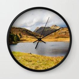 Blea Tarn in the English Lake District Wall Clock