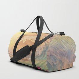 Cosmic Wave Duffle Bag