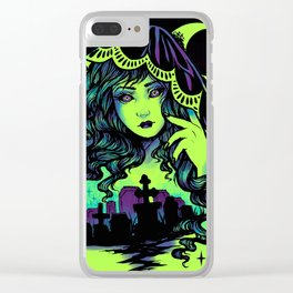 Grave Spirit Color Clear iPhone Case