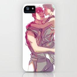 kagakuro kiss iPhone Case