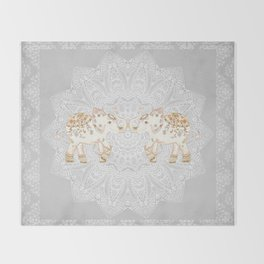 ALHAMBRA ELEPHANT GREY by Monika Strigel Throw Blanket