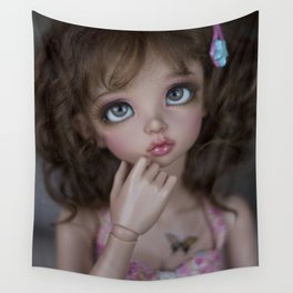 Sweet girl Wall Tapestry