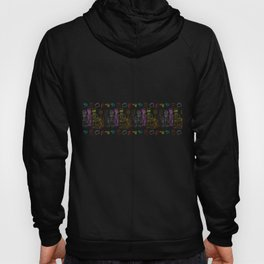 Res Dogs Rainbow Pattern Hoody