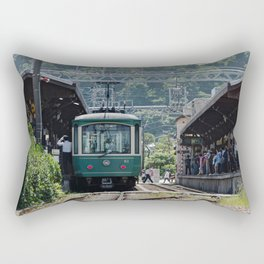Kamakura Enoden Rectangular Pillow