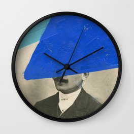 Doubtful Wall Clock