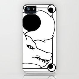 Loup Blanc iPhone Case
