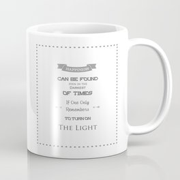 Happiness Can Be Found Even In The Darkest Of Times - Potter Quote Coffee Mug